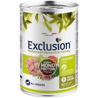 EXCLUSION N.G. ADULT POLLO 400 GR umido
