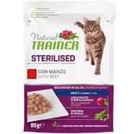NATURAL TRAINER CAT STERIL. MANZO busta 85 GR