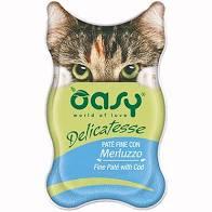 OASY CAT DELICATESSE PATE' CON MERLUZZO 85 GR