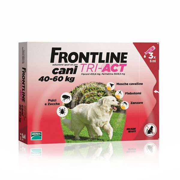 FRONTLINE TRI-ACT CANI  40-60 KG 3 PIP. (VFR53)